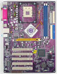 Motherboard ECS 848P-A Deluxe