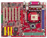 Motherboard Microstar 655 Max HT Ready