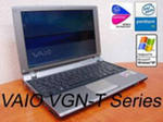 Notebook, Laptop SONY VGN-T170P